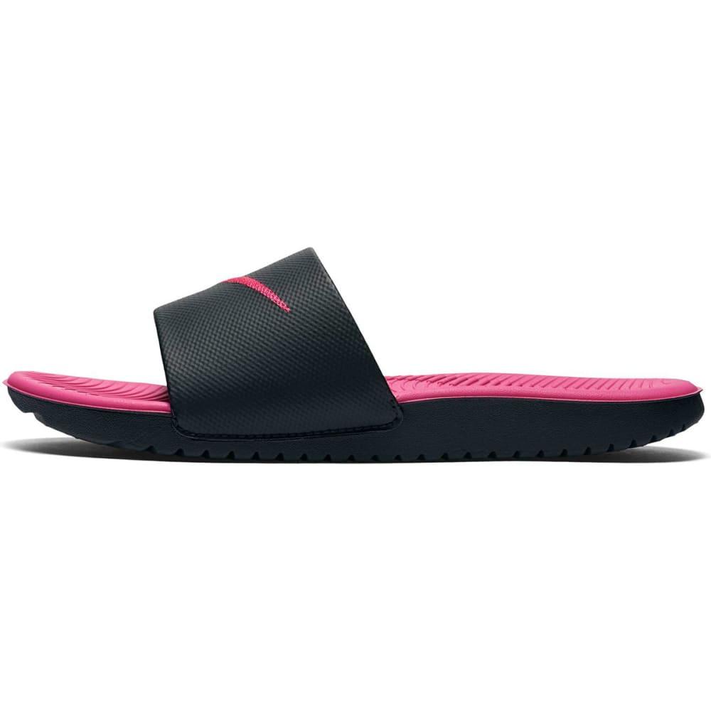 NIKE Girls' Kawa Slide Sandals - BLACK
