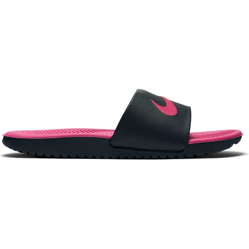 NIKE Girls' Kawa Slide Sandals - BLACK