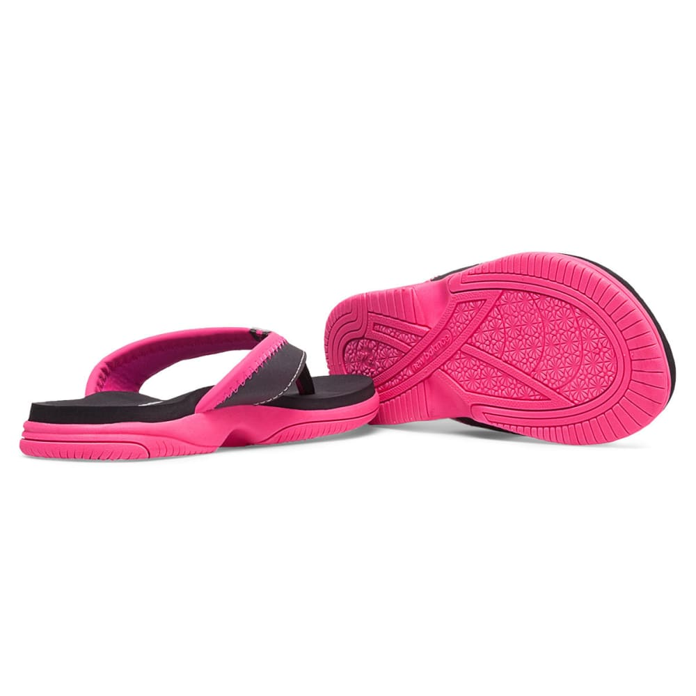 NEW BALANCE Girls' Jojo Thong Sandals - GREY/PINK