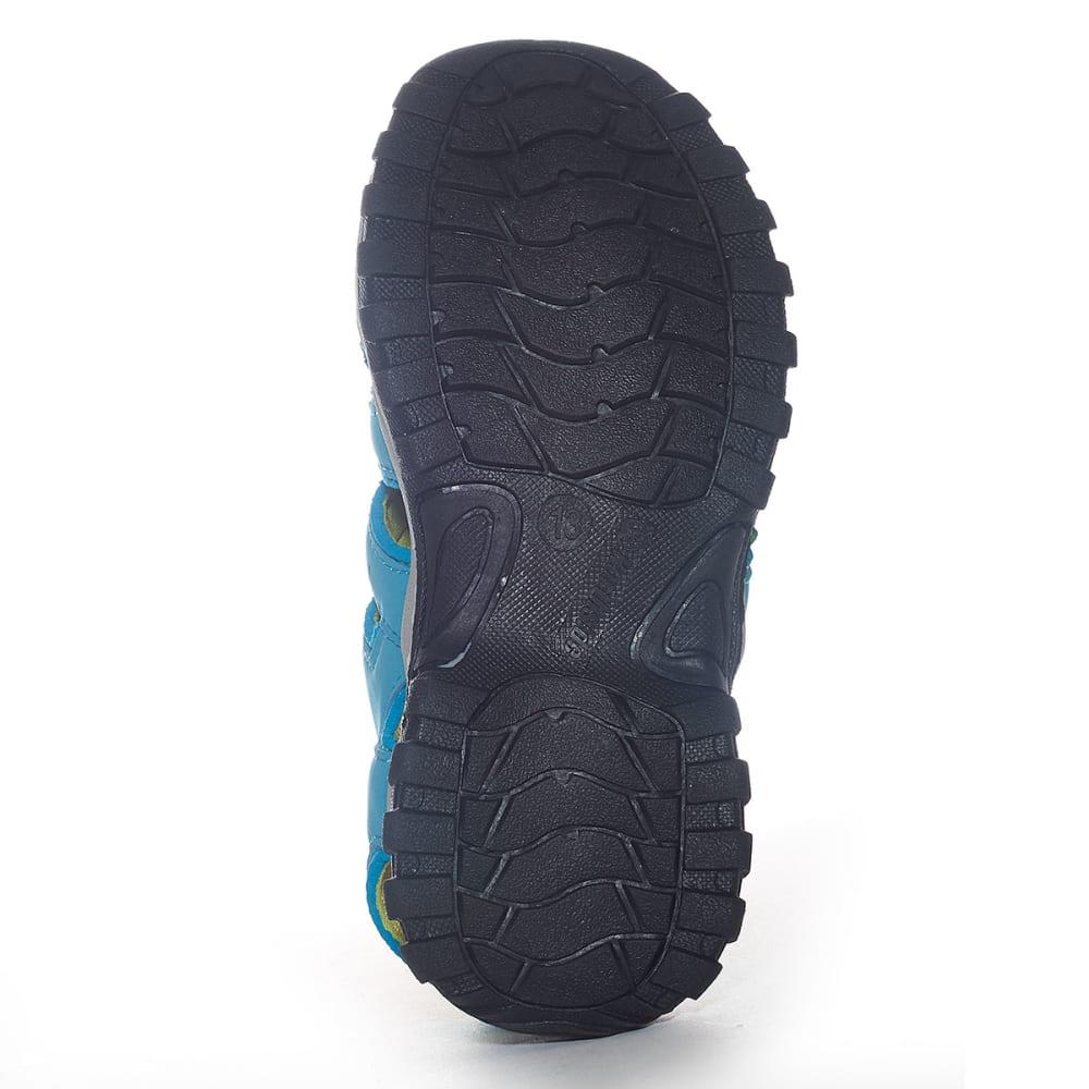 NORTHSIDE Girls' Burke II Sandals - BLUE/LIME