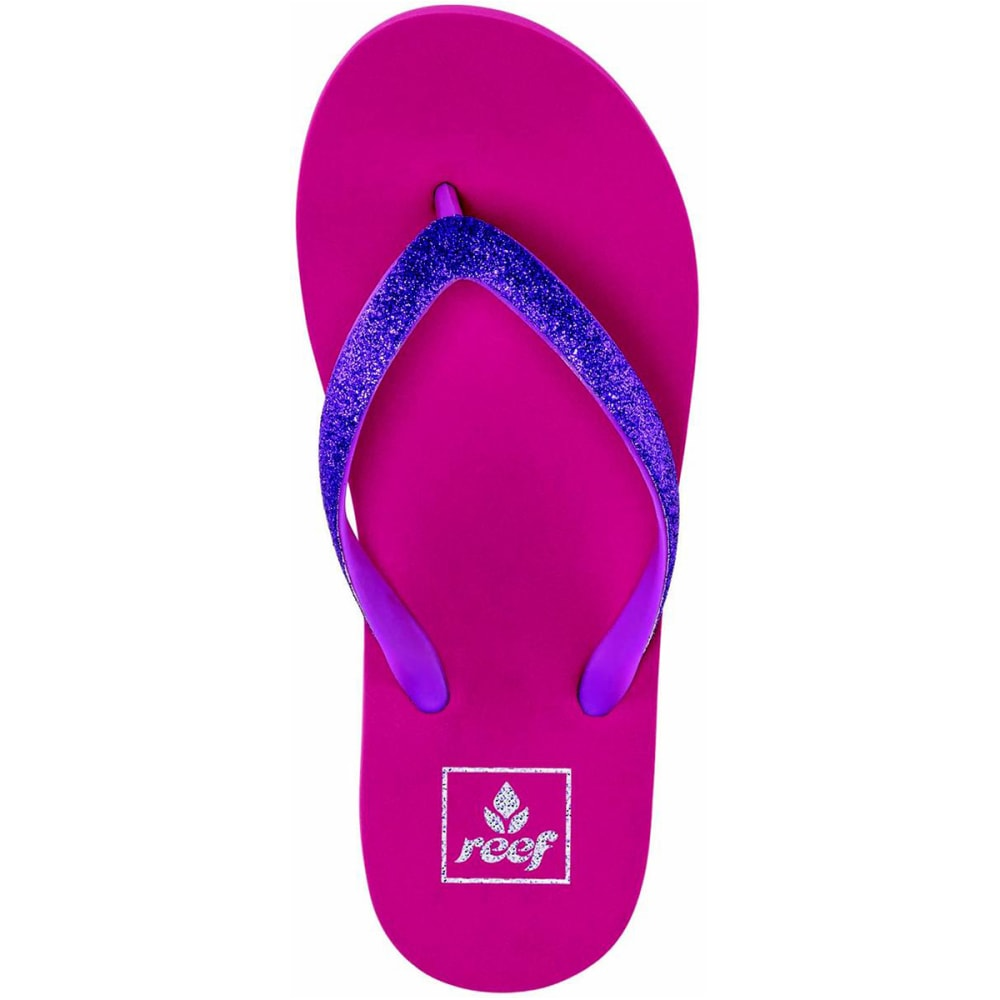 REEF Girls' Little Stargazer Sandals - PINK / PURPLE  - PKP