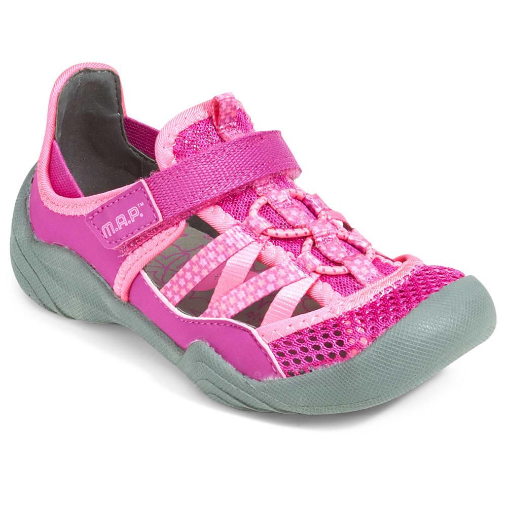 M.A.P. Girls' Niagara Sandals - BERRY