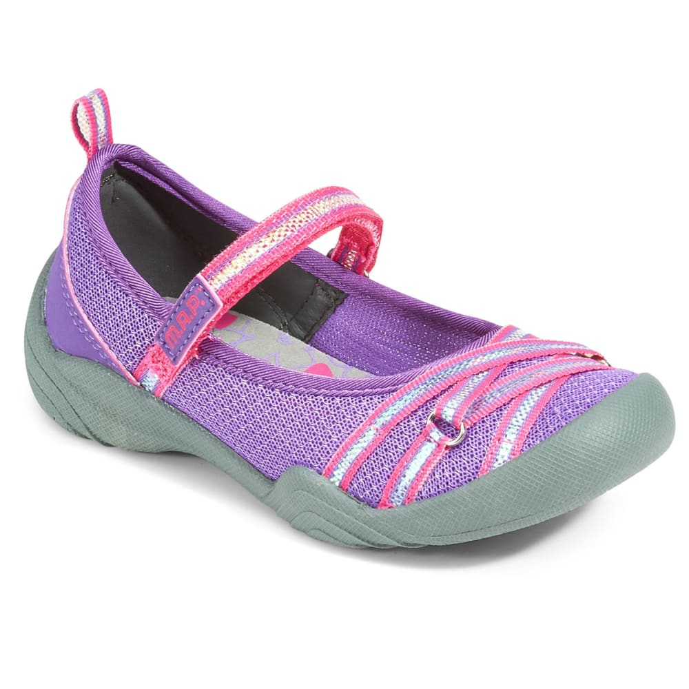 M.A.P. Girls' Lillith 3 Sandals - PURPLE