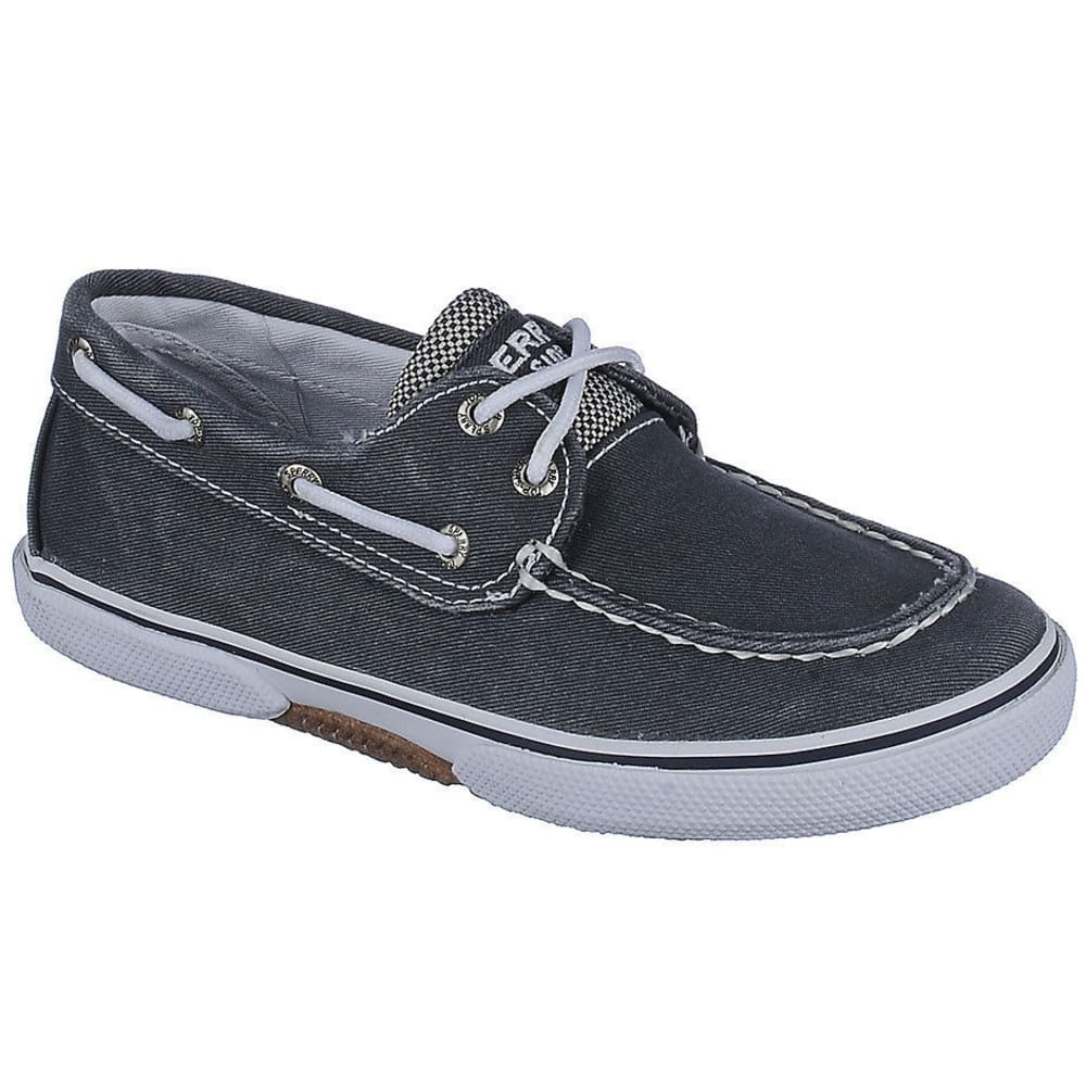 SPERRY Boys' Halyard Boat Shoes - NAVY