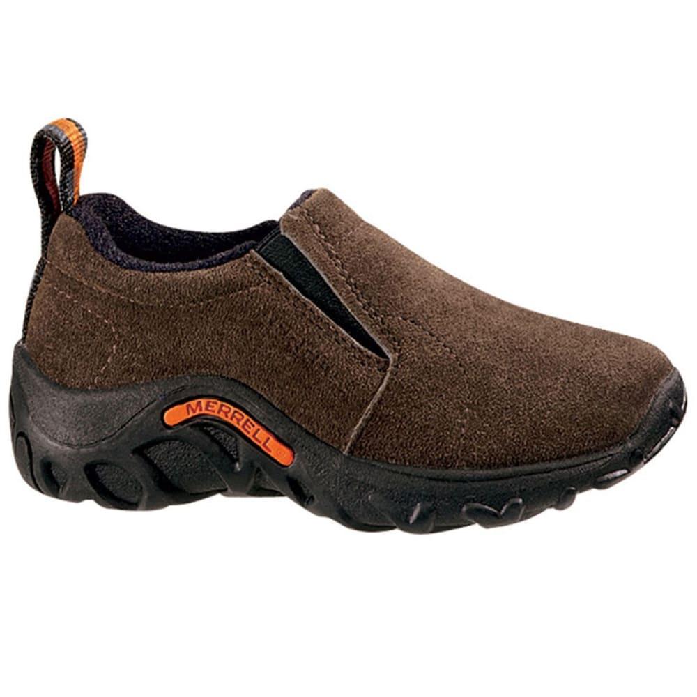 Merrell Kids' Jungle Moc Shoes, Gunsmoke - Brown, 1