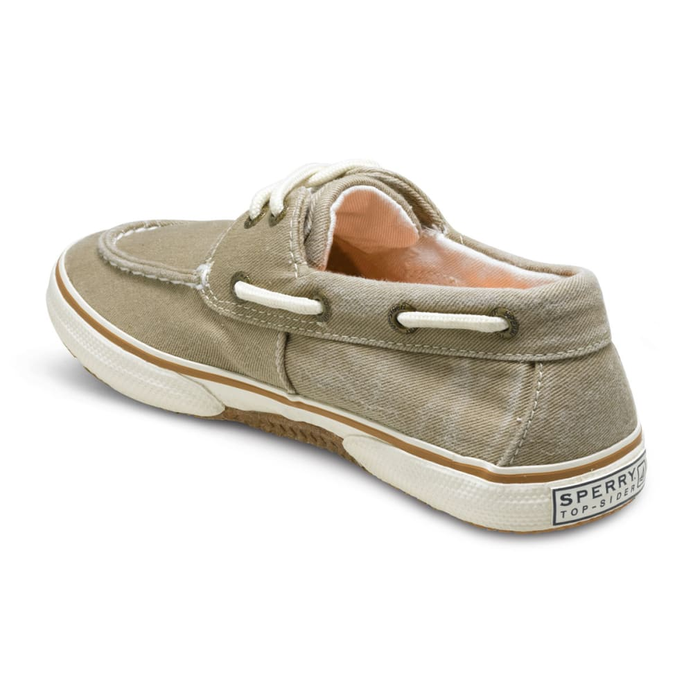 SPERRY Boys' Halyard Boat Shoes - KHAKI