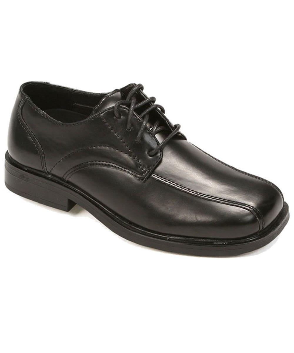 DEER STAGS Boys' Gabe Bicycle Toe Shoes - OXFORD/BLACK
