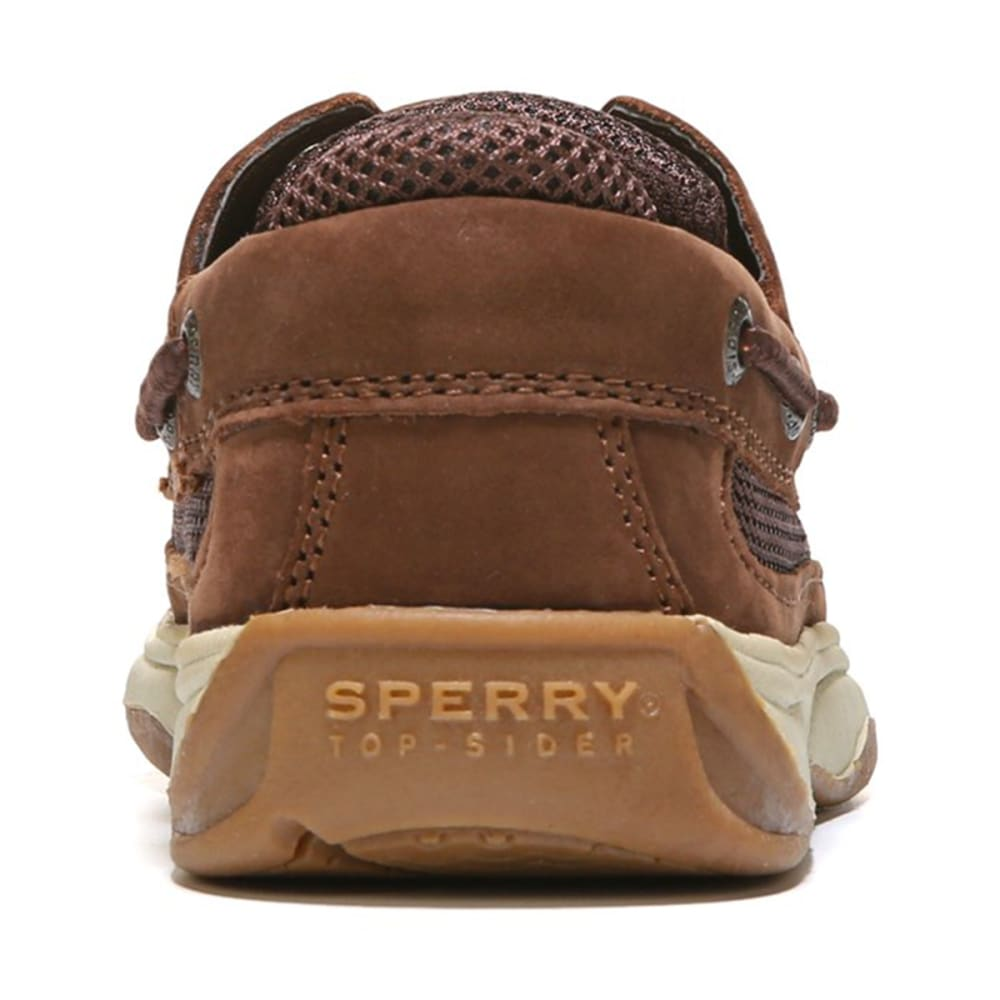 SPERRY Boys' Lanyard Boat Shoes - BROWN YB54294A