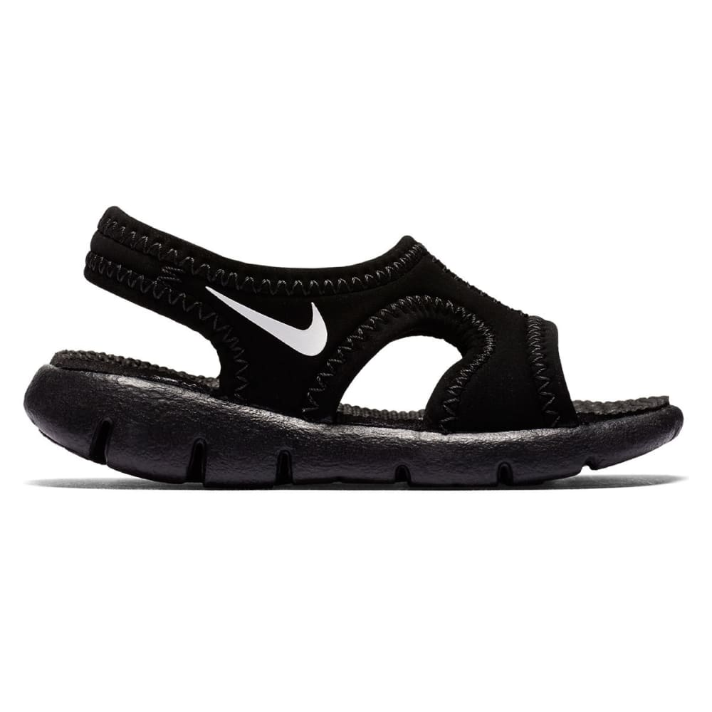 NIKE Toddler Boys' Sunray 9 Sandals - BLACK