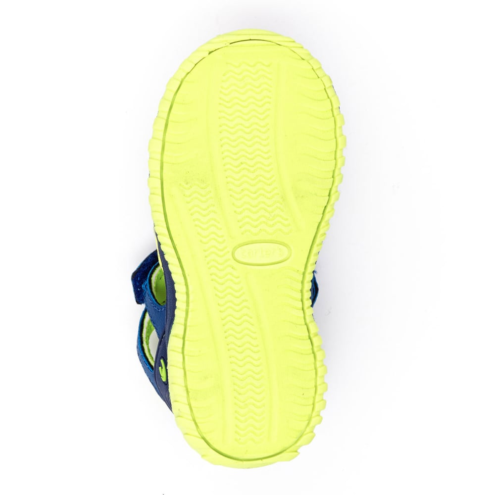 CARTERS Infant Boys' Premier B Closed Toe Athletic Sandals - NAVY/YELLOW