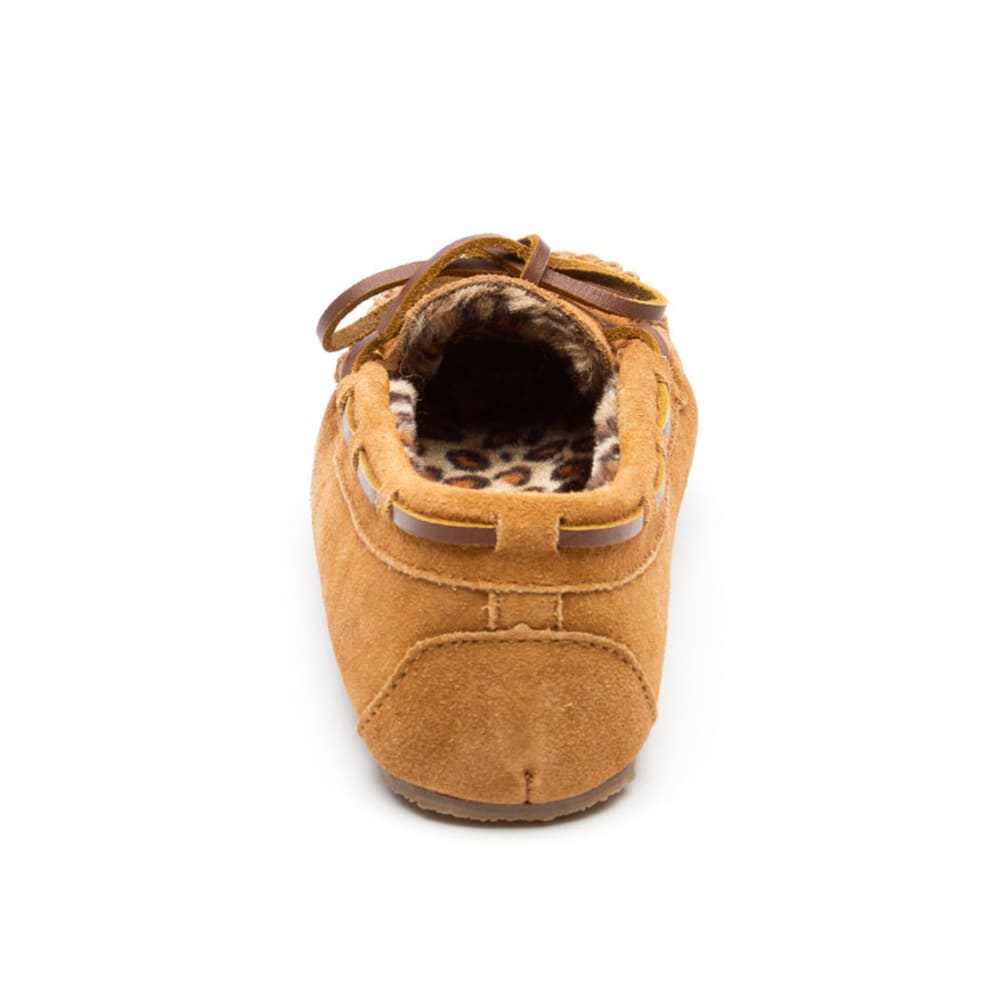 MINNETONKA Girls' Jocelyn Trapper II Moccasins, Sizes 12-4 - CINNAMON