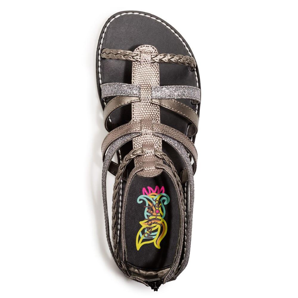 RACHEL SHOES Girls' Seattle Gladiator Sandals - BRONZE