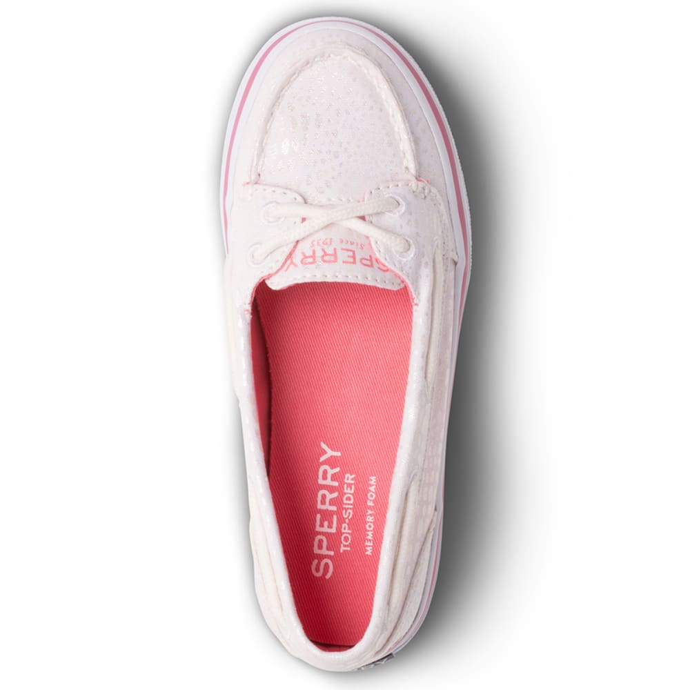 SPERRY TOP-SIDER Girls' Seabright Shoes, White - WHITE
