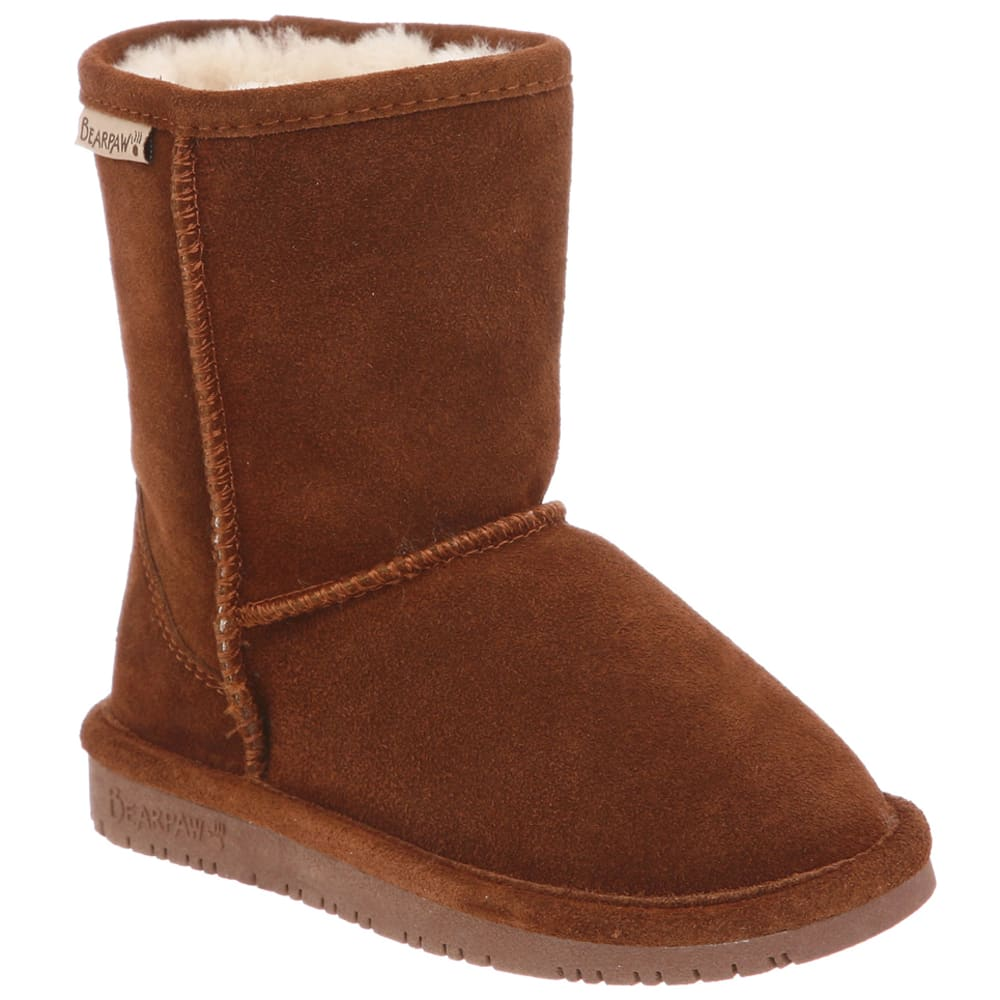 Bearpaw Girls' Emma Boot - Brown, 13