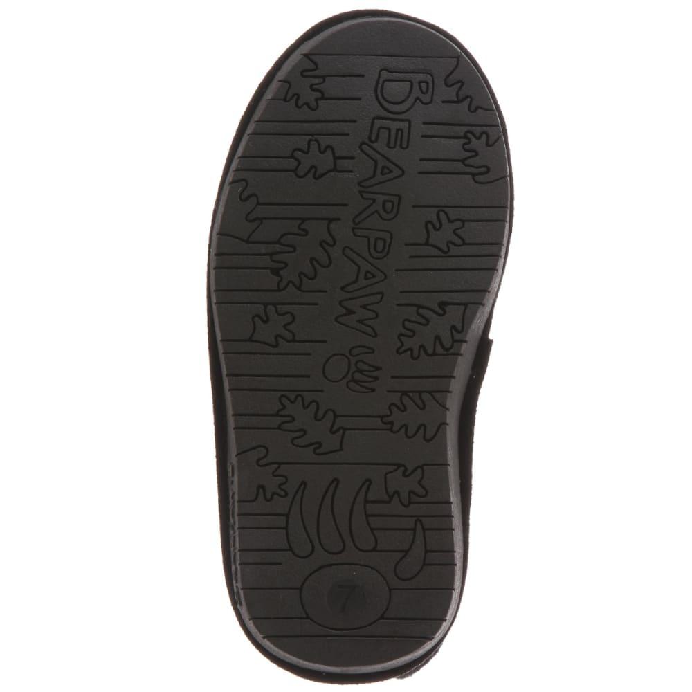 BEARPAW Girl's Emma Boots, Black, 11-12 - BLACK
