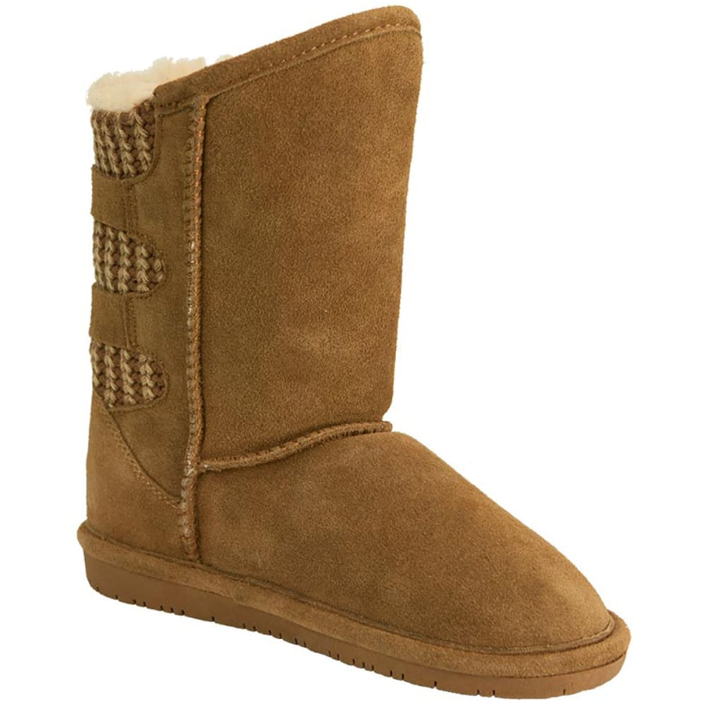 BEARPAW Girls' Boshie Boots - HICKORY-220
