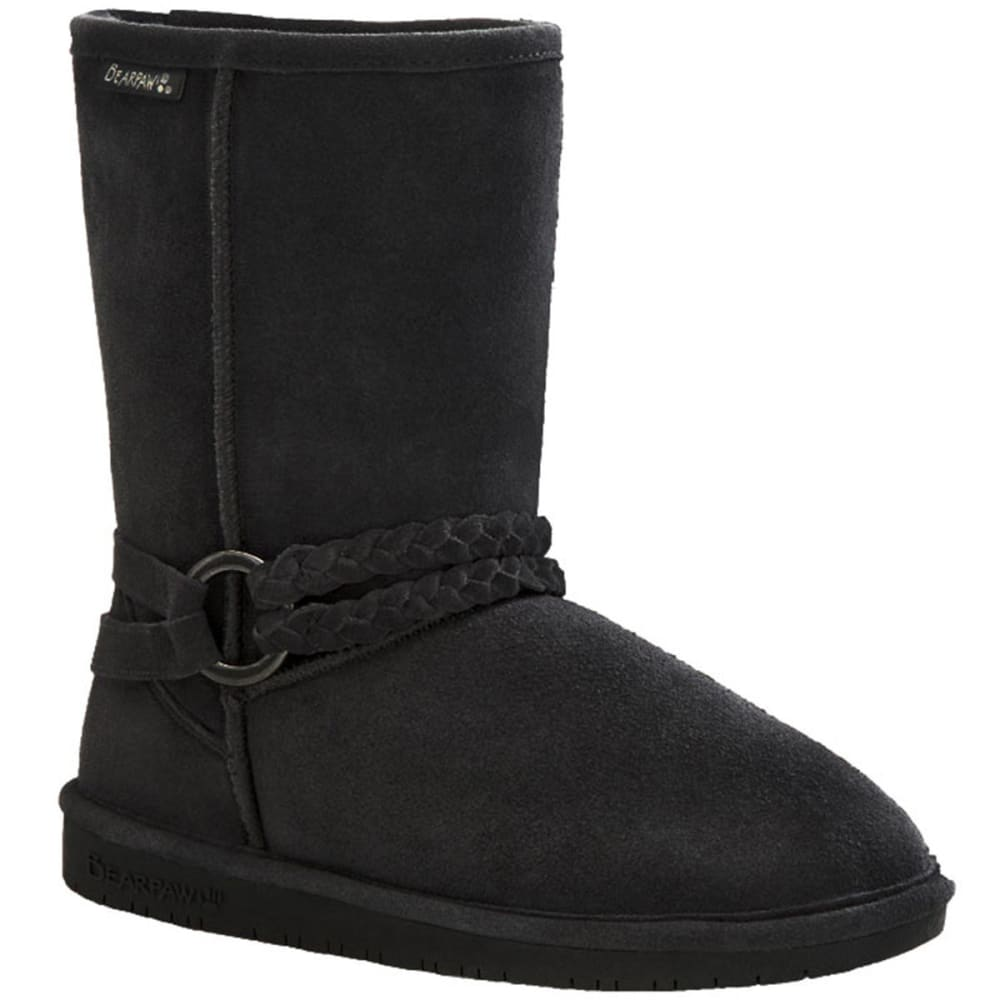 BEARPAW Girls' Adele Boots - BLACK