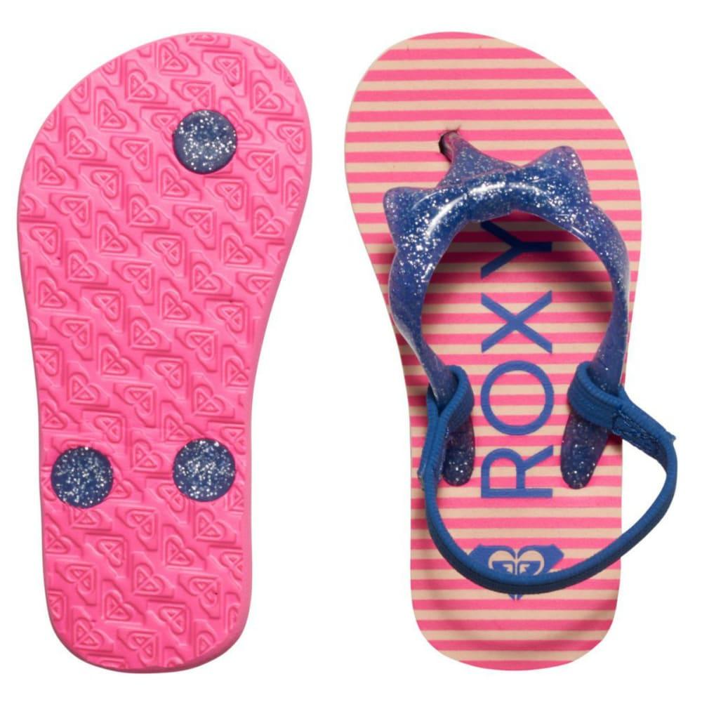 ROXY Girls' Fifi Flip Flops - SUN GLOW