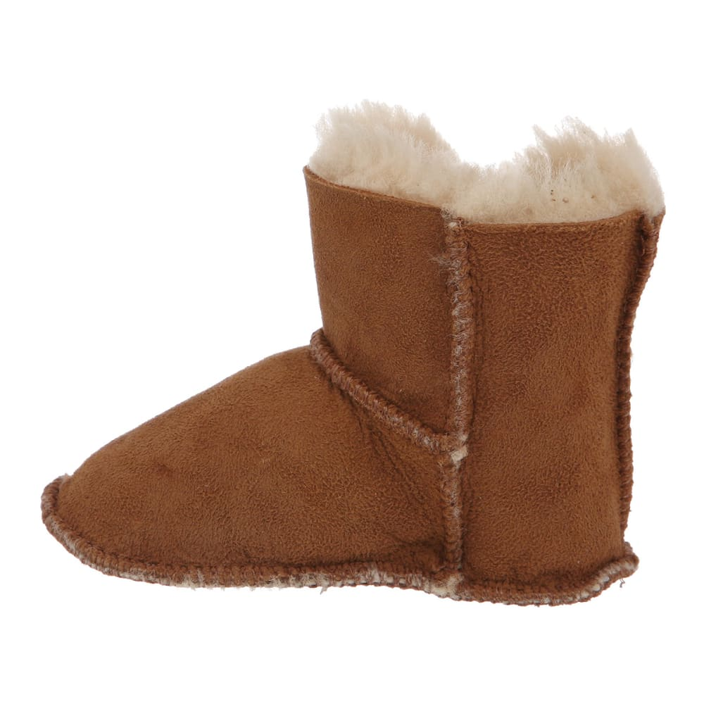 BEARPAW Infant Girls' Cottonwood Booties - CHESTNUT