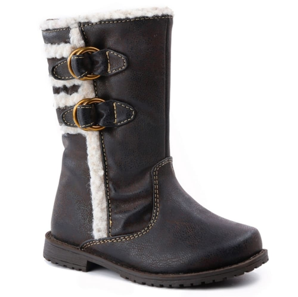 RACHEL SHOES Girls' Lil Sahara Boots - BROWN