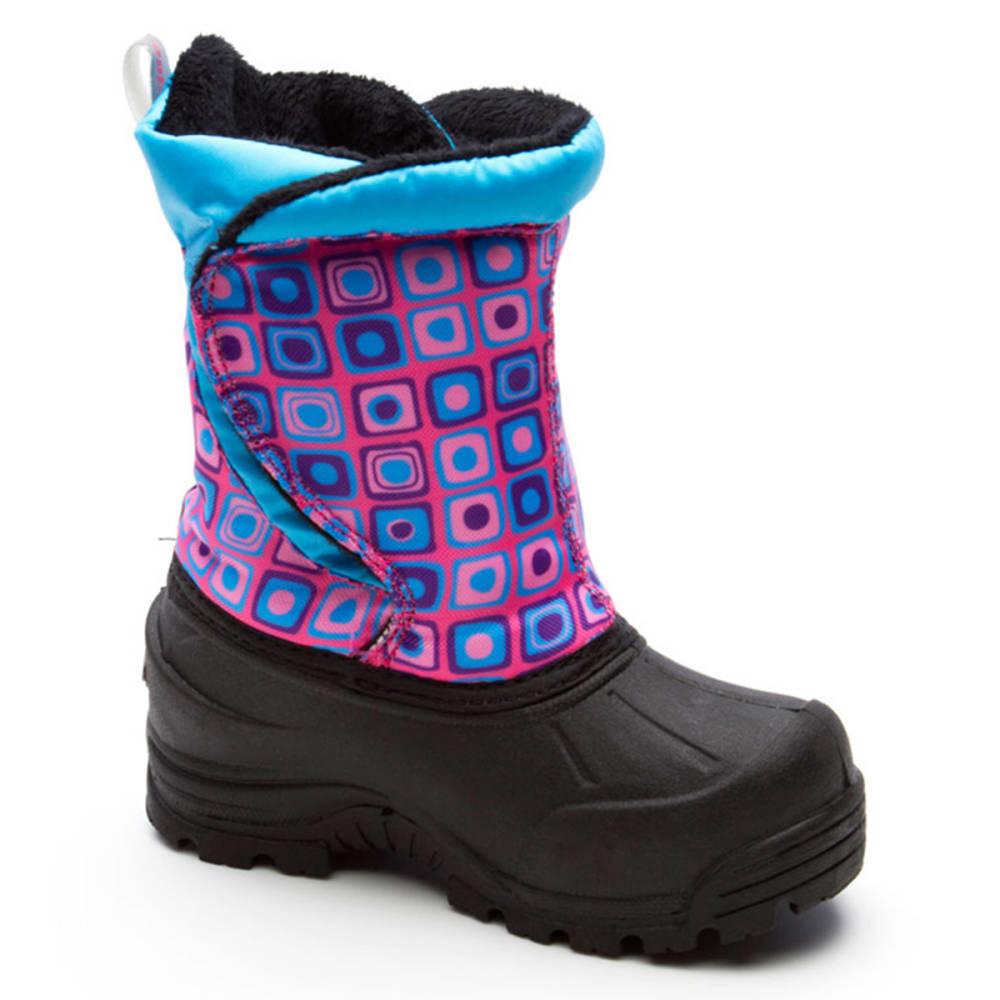 NORTHSIDE Kids' Snoqualmie Boots, 6-10 - PINK