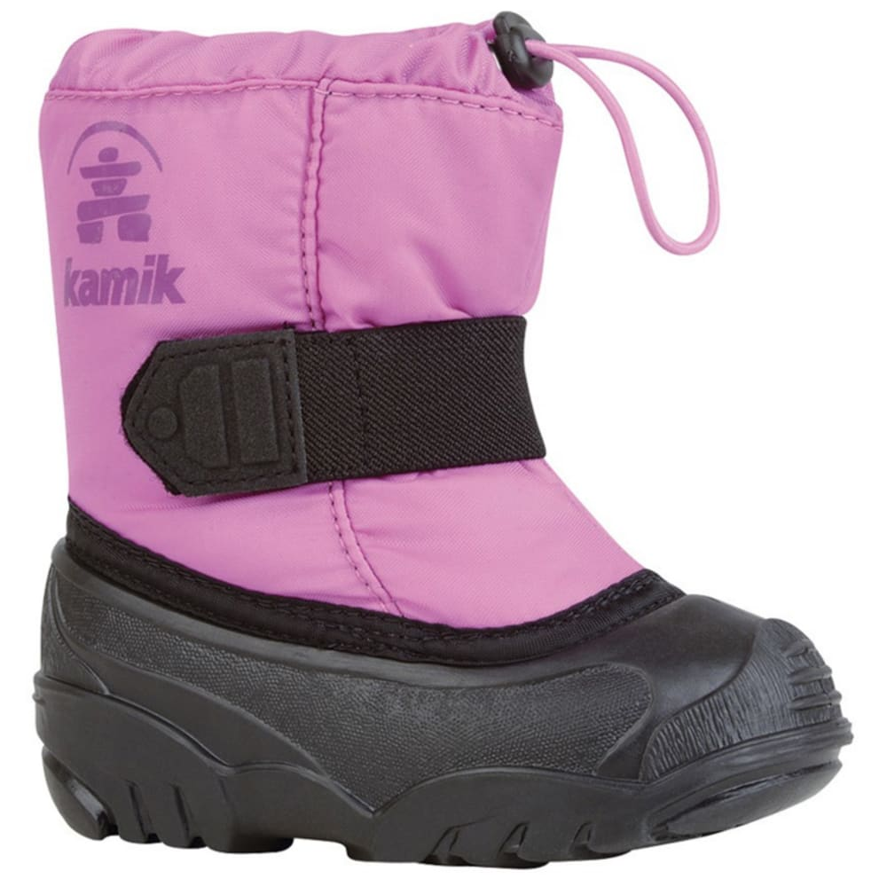 KAMIK Girls' Tickle Pink Boots - FRESH SALMON