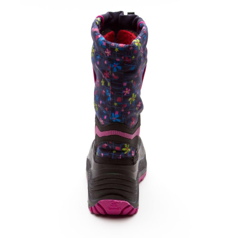 KAMIK Girls' Snowbank2 Boots, 1-7 - NAVY