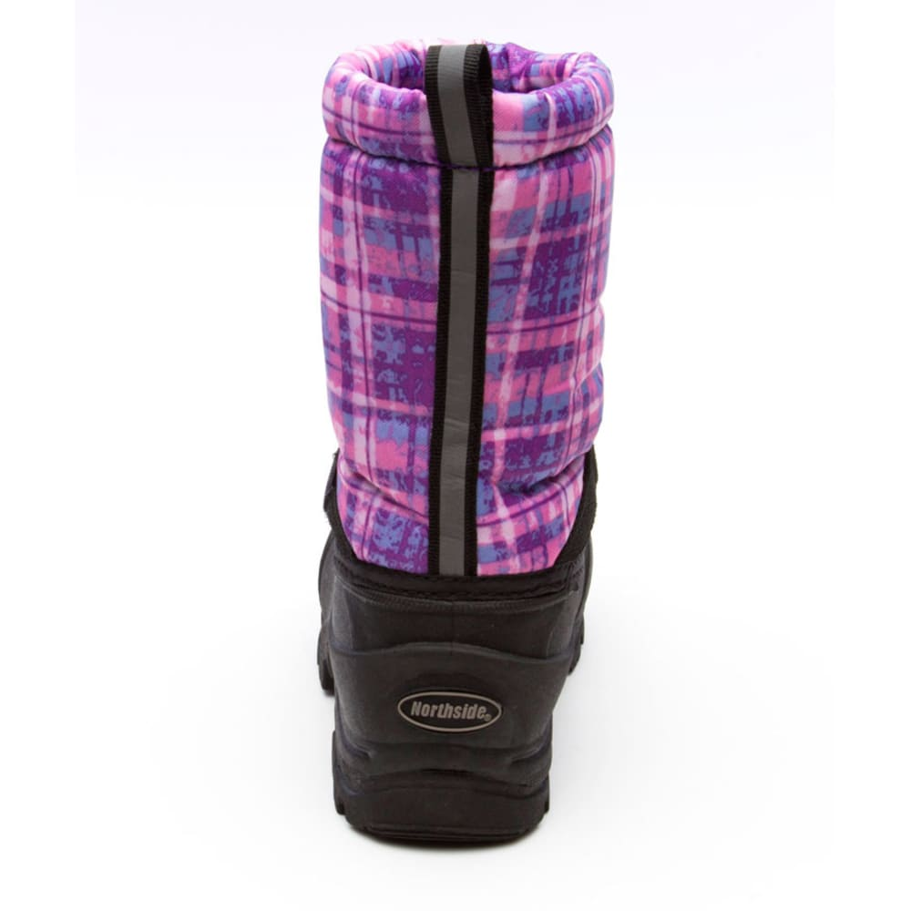 NORTHSIDE Girls' Frosty Boots, 11-5 - PURPLE