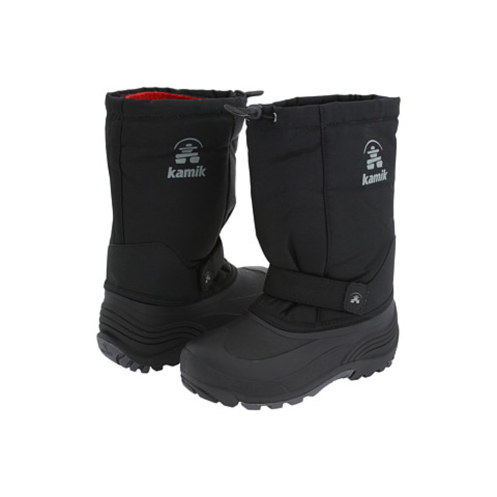 KAMIK Child's Rocket Winter Boots - BLACK