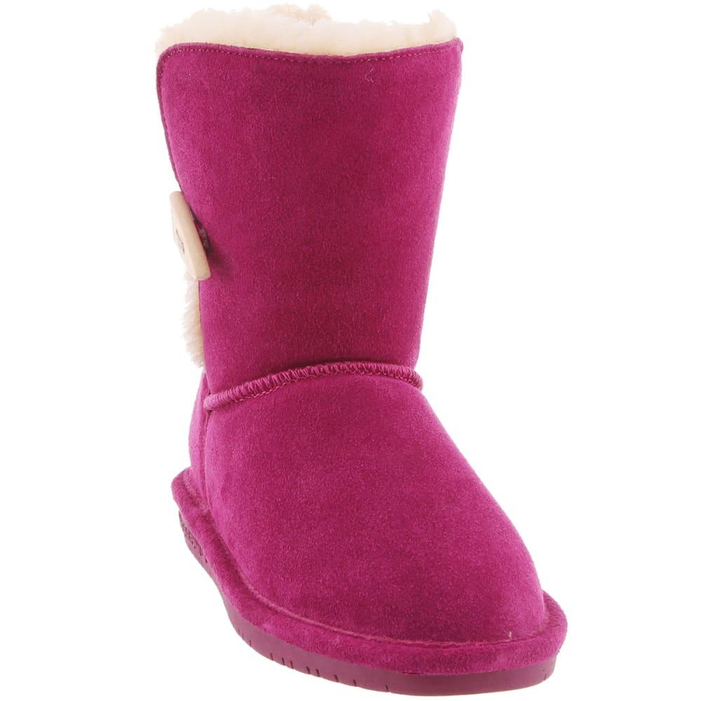 BEARPAW Girl's Abigail Boots - POM BERRY