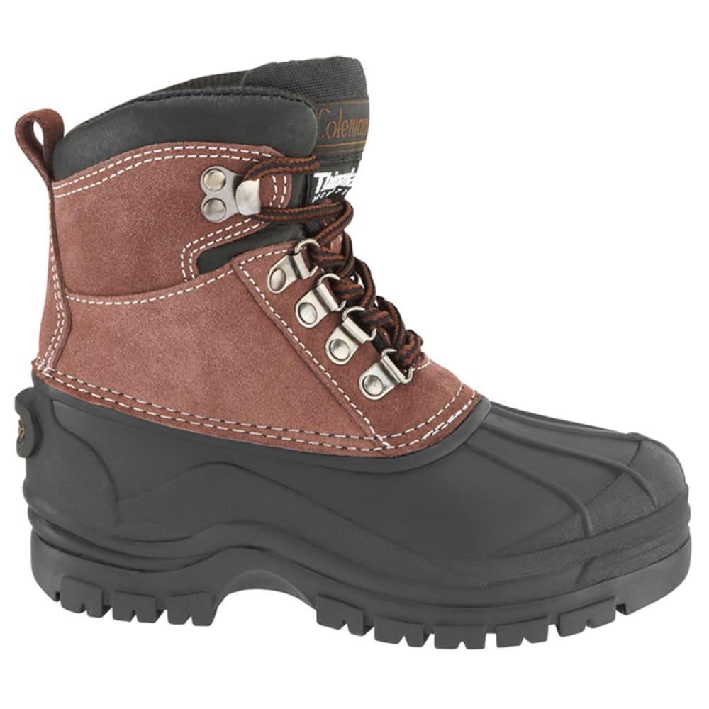 Coleman Kids' Glacier Pac Boots, 11-12, 1-6 - Brown, 11