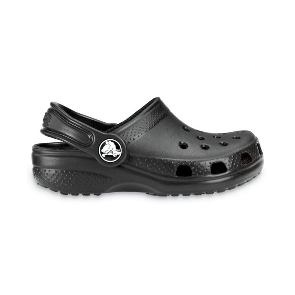 Crocs Kids Classic Clogs - Black, 6/7
