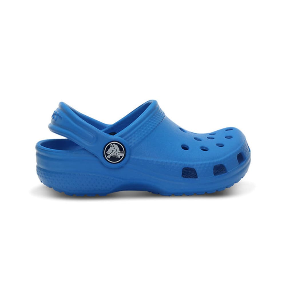 CROCS Kids' Classic Clogs, 6-3 - OCEAN BLUE