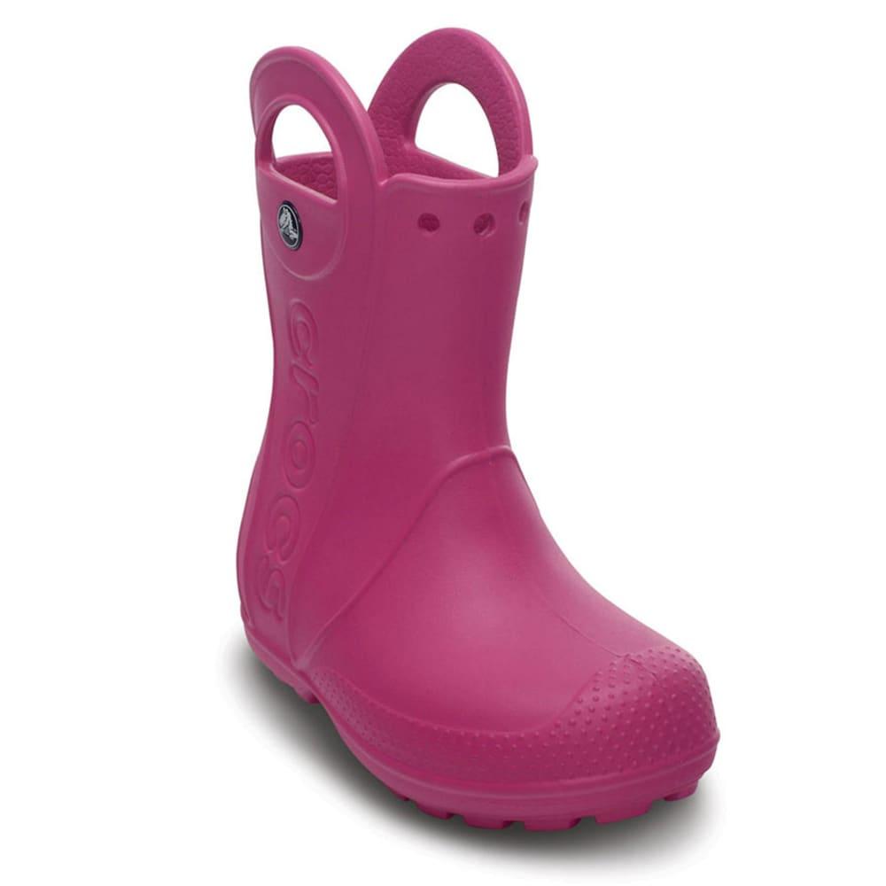 CROCS Kids Handle It Rain Boot Fuchsia 10-3 - FUSHIA
