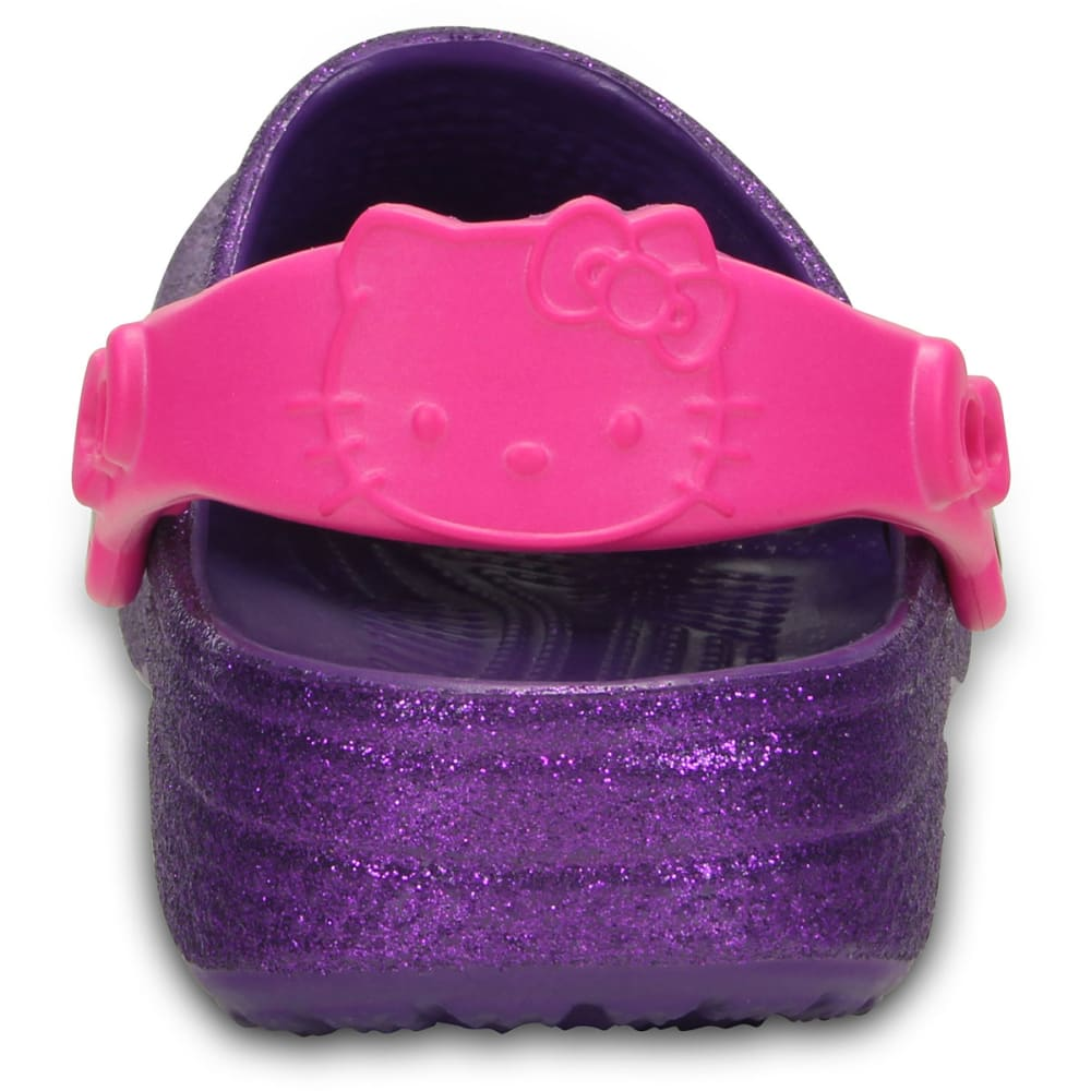 CROCS Girls' Hello Kitty® Clogs - NEON PURPLE