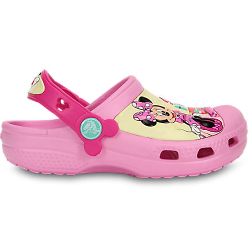 CROCS Girls' Creative Crocs Minnie™ Jet Set Clogs - PINK