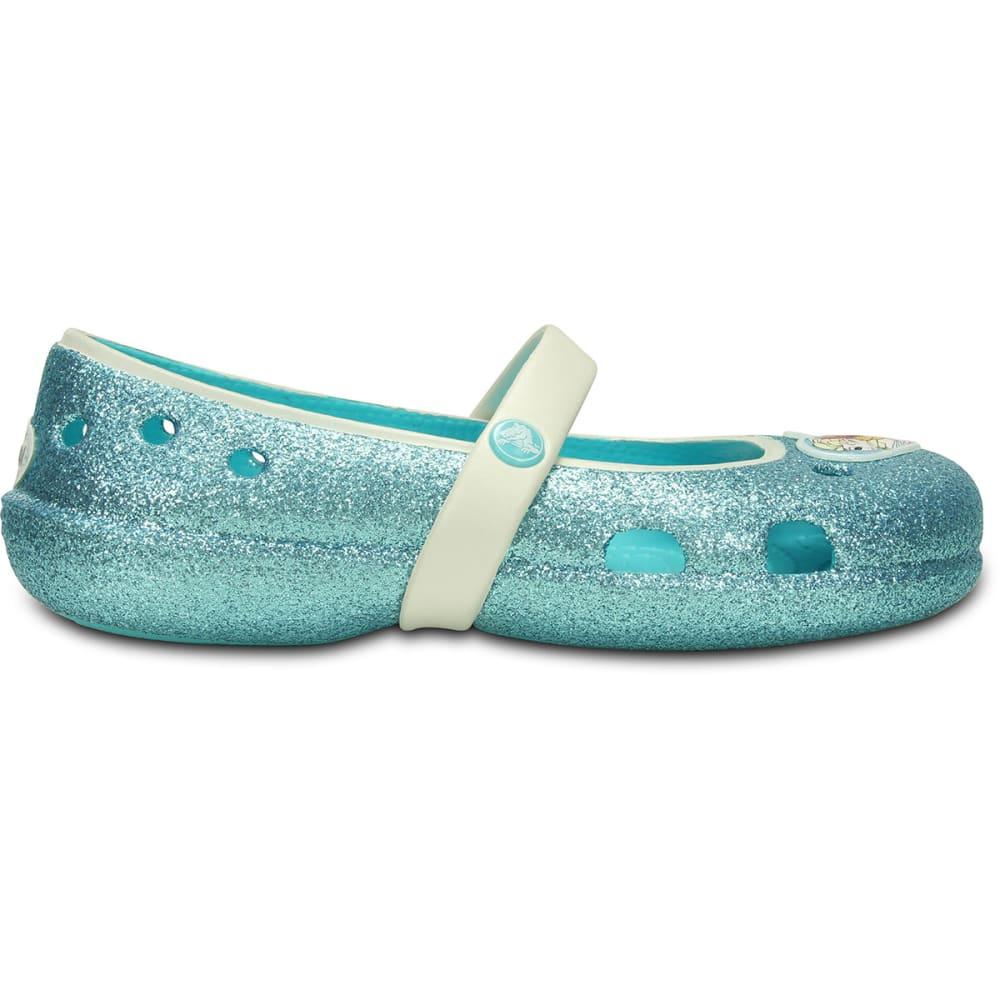 CROCS Girls' Creative Crocs Frozen™ Clogs, 5-13 - POOL
