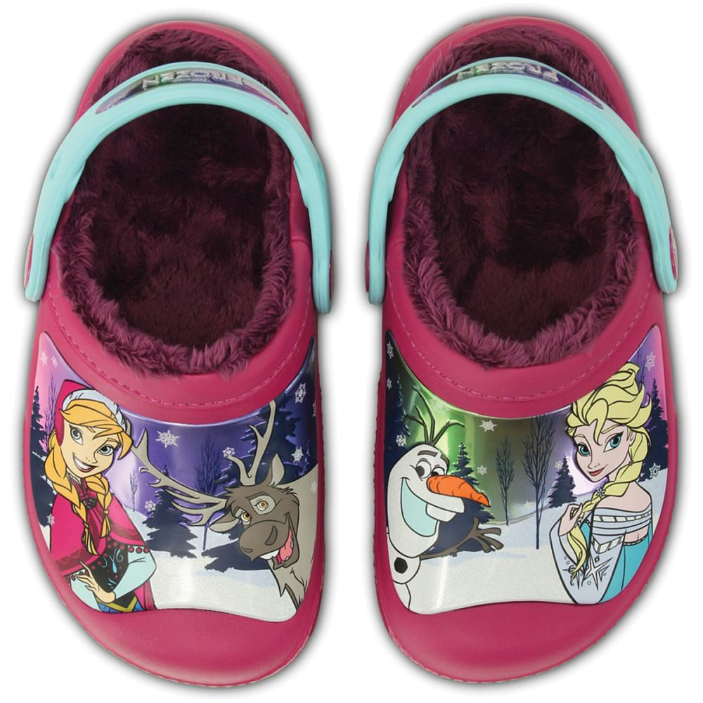 CROCS Girls' Frozen™ Clogs - BERRY