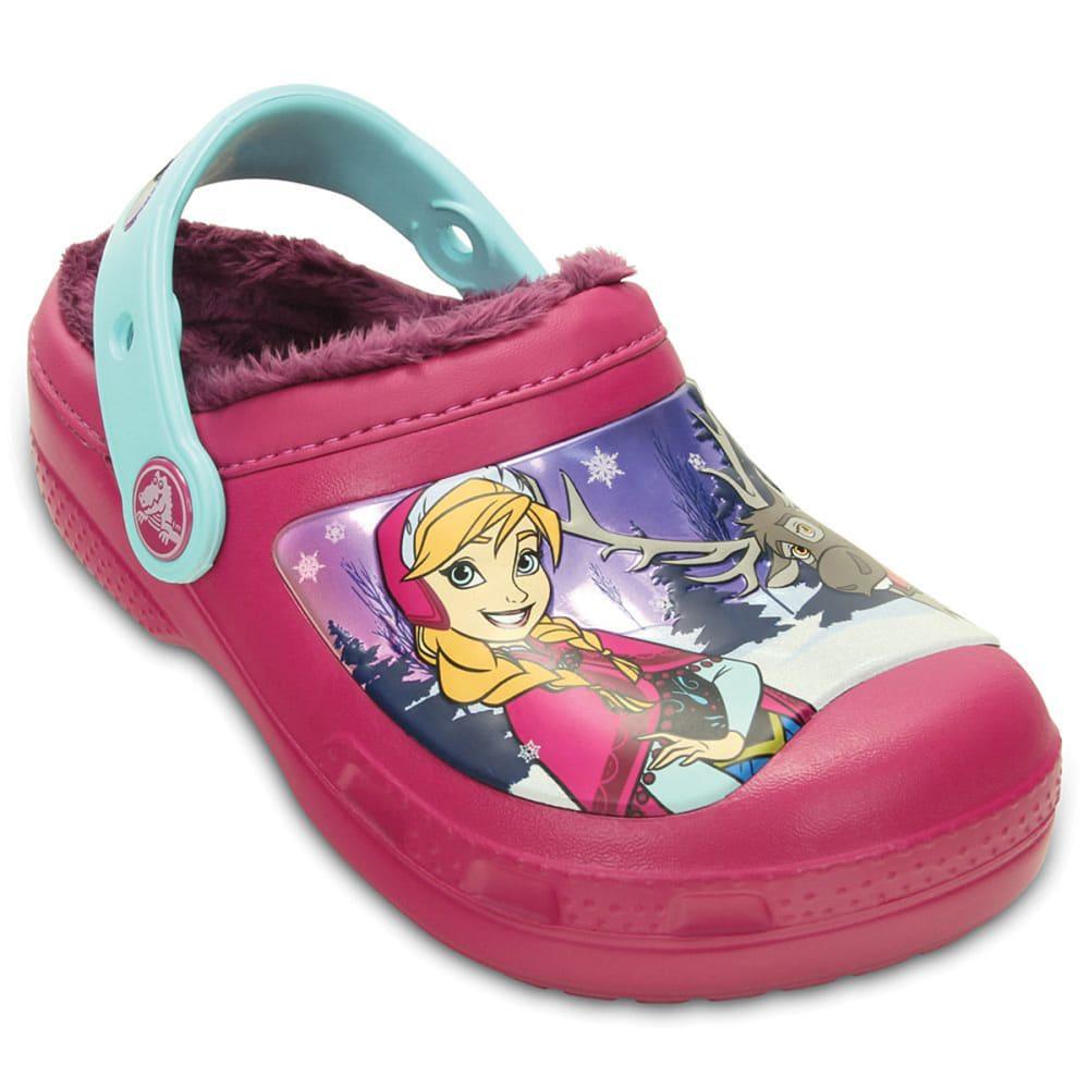 CROCS Girls' Frozen™ Clogs - BERRY