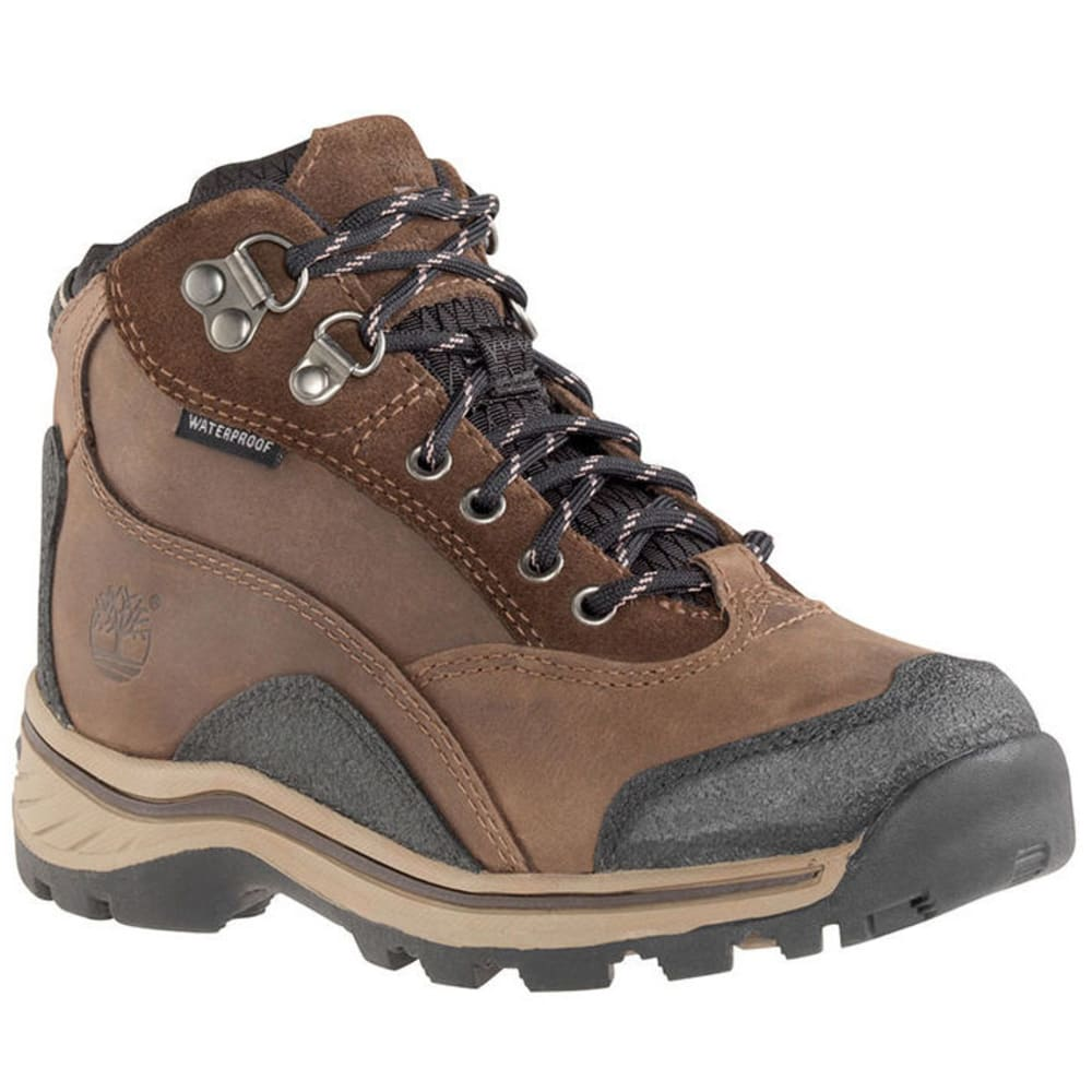 TIMBERLAND Boys' Pawtuckaway Boots, 4.5-6 - BROWN