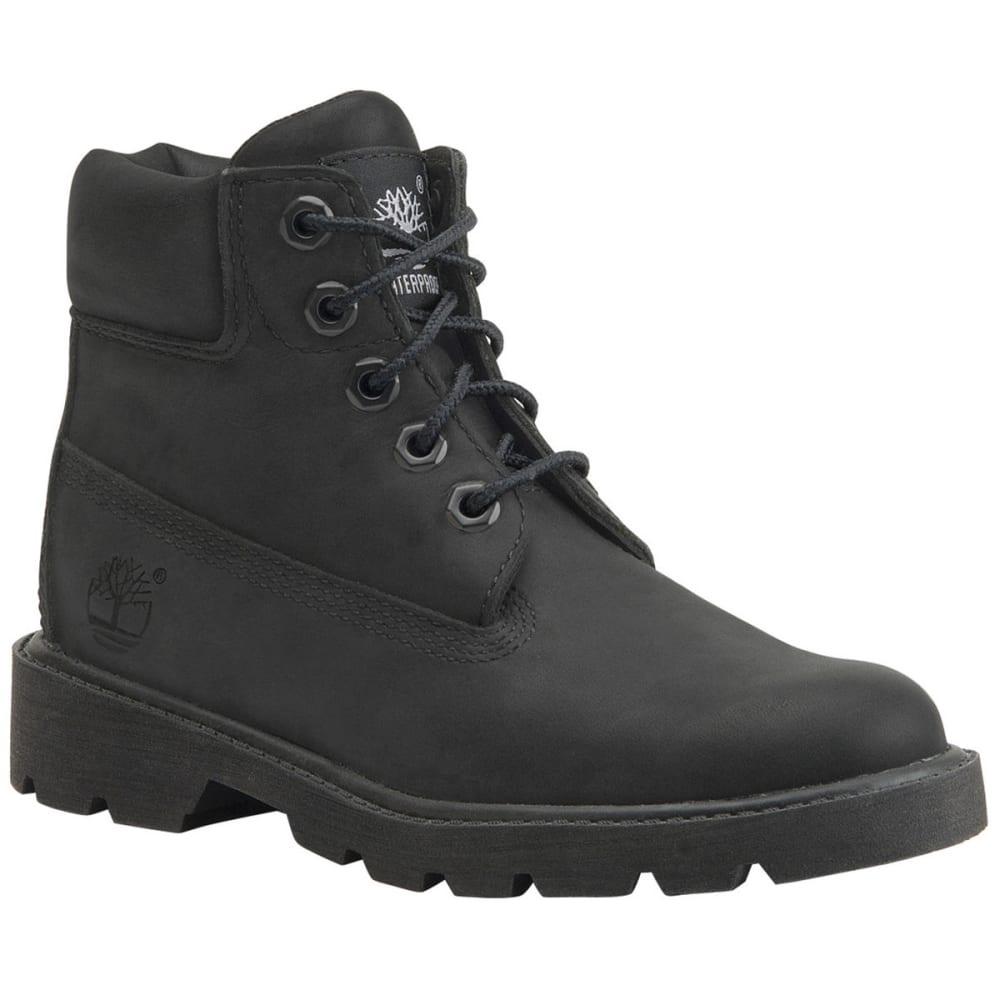 TIMBERLAND Boys' Classic Waterproof Boots, 4-7 - BLACK