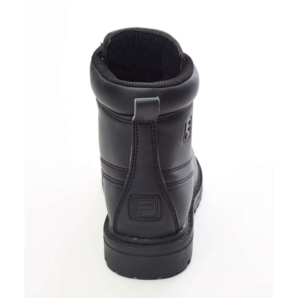 FILA Boys' Edgewater Boots, 1-7 - BLACK