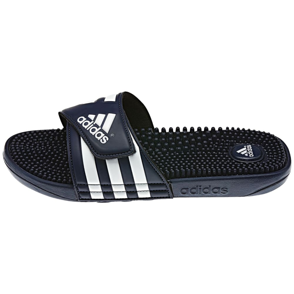 ADIDAS Men's Adissage Slides - BLACK