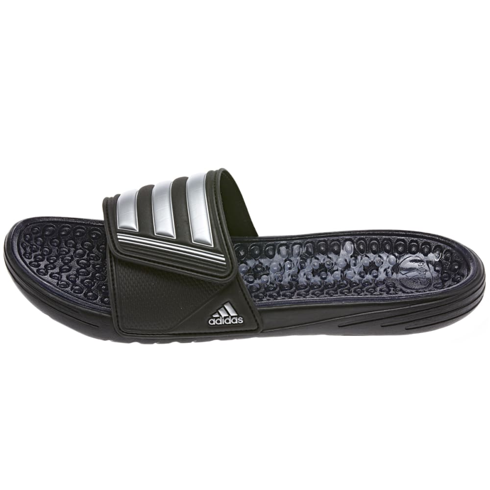 ADIDAS Men's Retrosage Slides - BLACK/SILVER