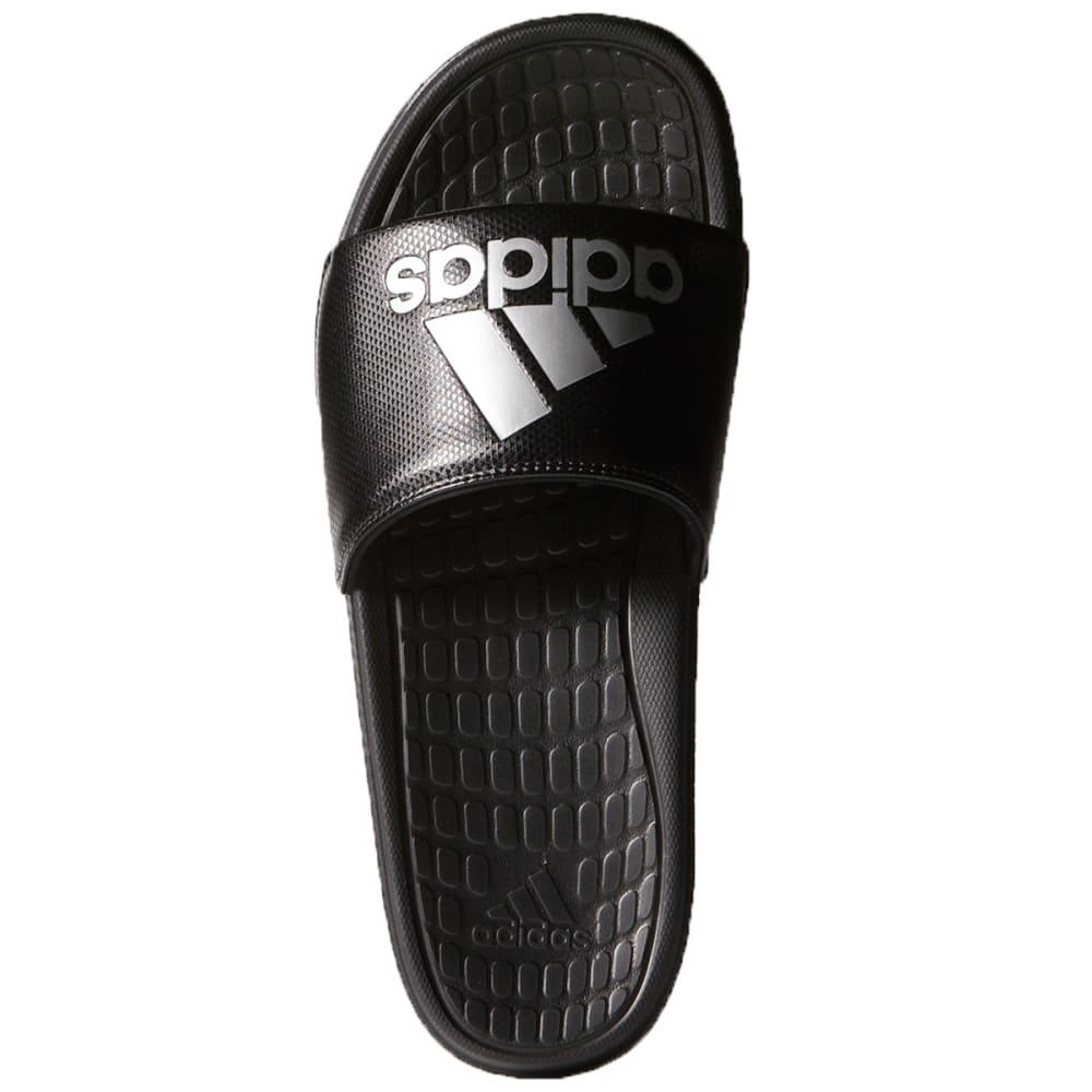 ADIDAS Men's Voloomix Slides - BLACK/SILVER