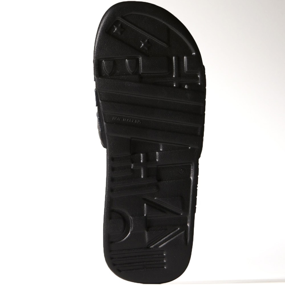 ADIDAS Men's Adissage Comfort Slides - BLACK