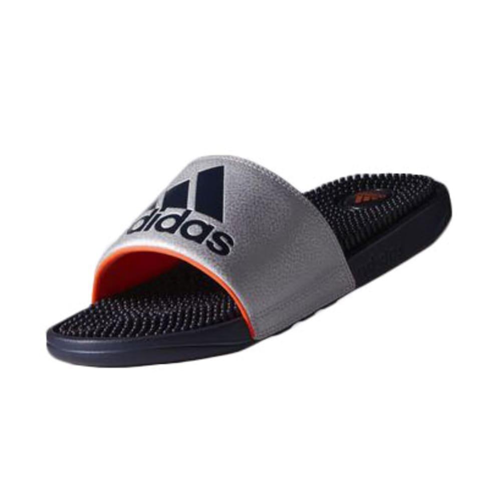 ADIDAS Men's Voloossage Slide Sandals - SILVER