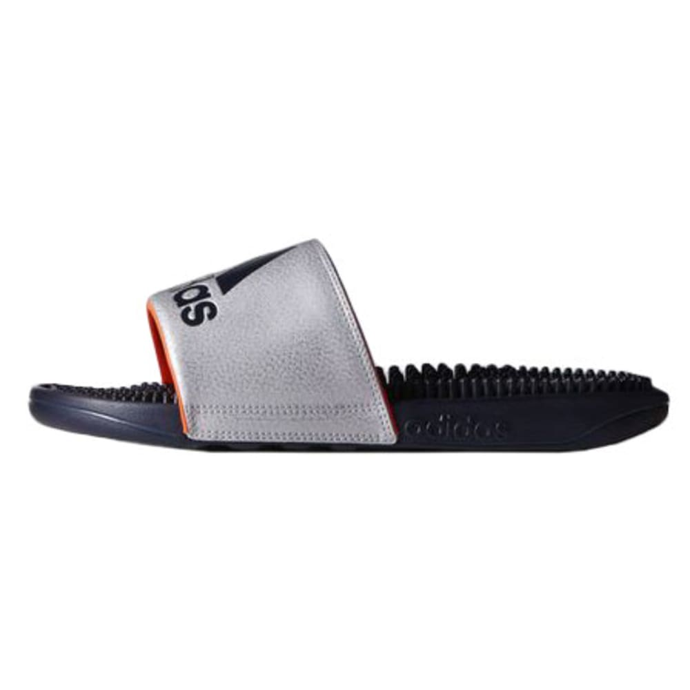 ADIDAS Men's Voloossage Slide Sandals - SILVER
