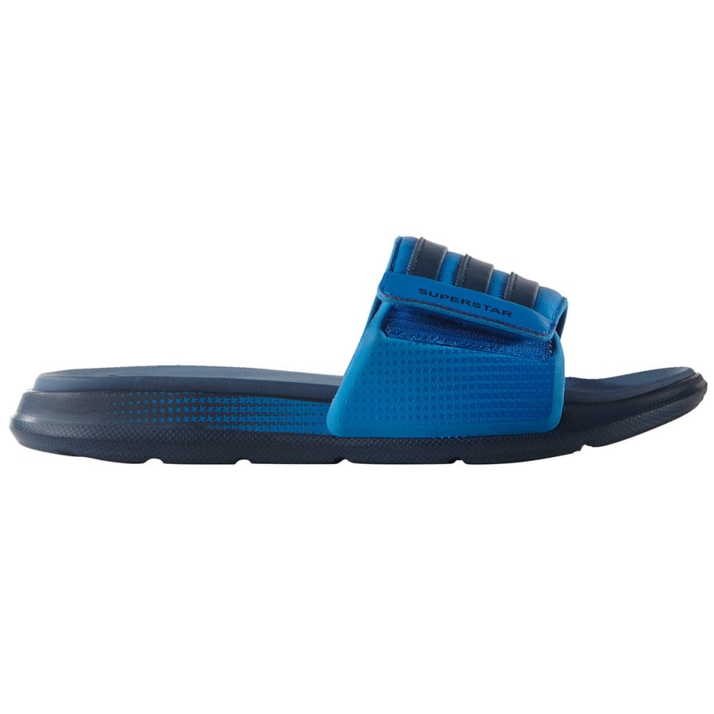 ADIDAS Men's Superstar 4G Slides - MINERAL BLUE