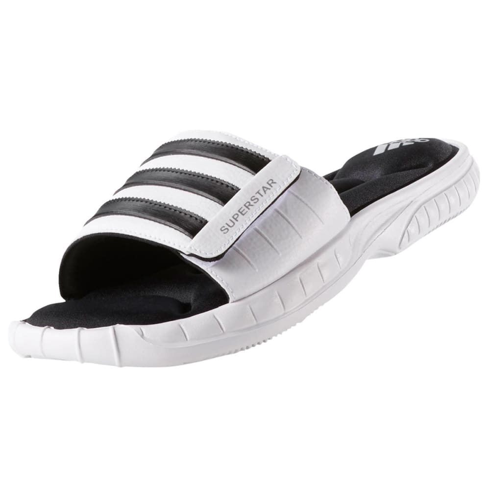ADIDAS Men's Superstar 3G Slides - WHITE